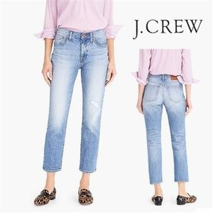 J CREW JEANS WOMEN'S 26   Slim broken in boyfriend